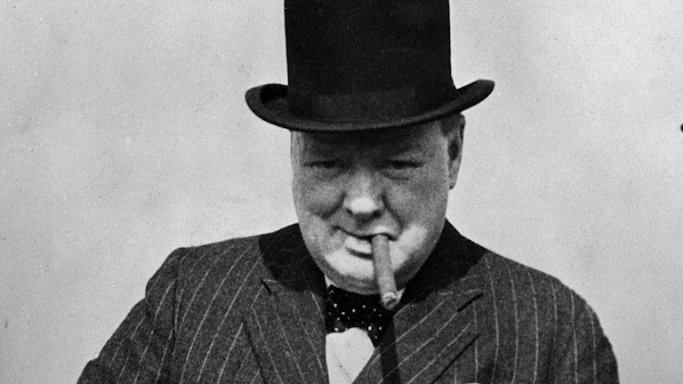 Winston Churchill 1940./SVT Bild