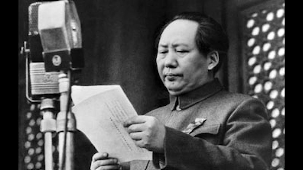 Ordförande Mao - en kort historik - Radiofynd | Sveriges Radio