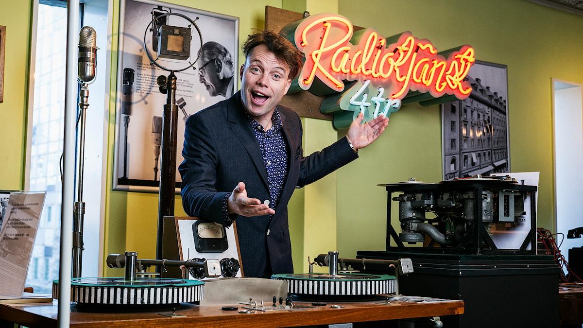 Henrik Olsson. Foto: Mattias Ahlm/Sveriges Radio.