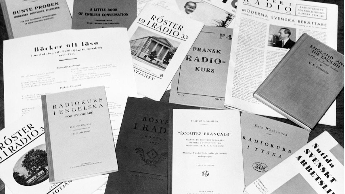 Radion som folkbildare. SVT Bild.