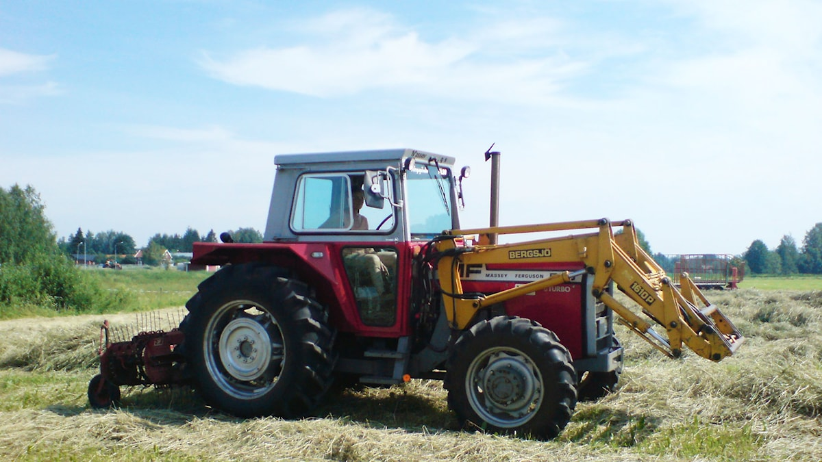 Traktor. SVT Bild.