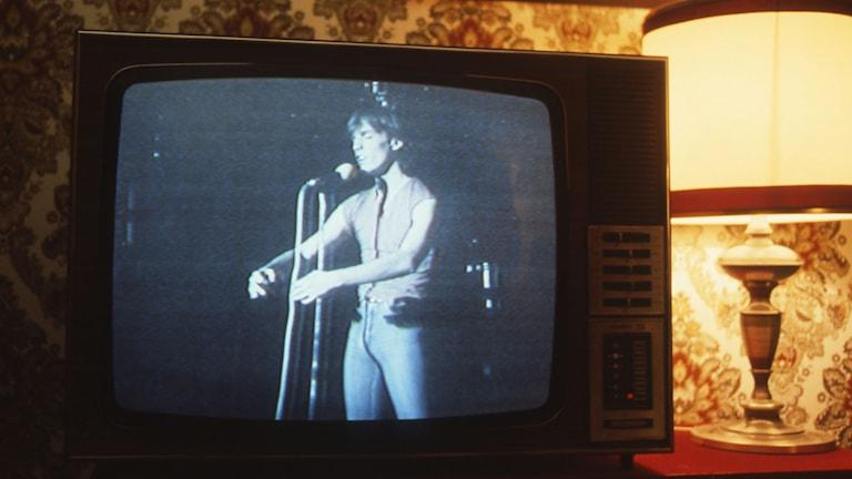 TV-apparat från 80-talet./SVT Bild