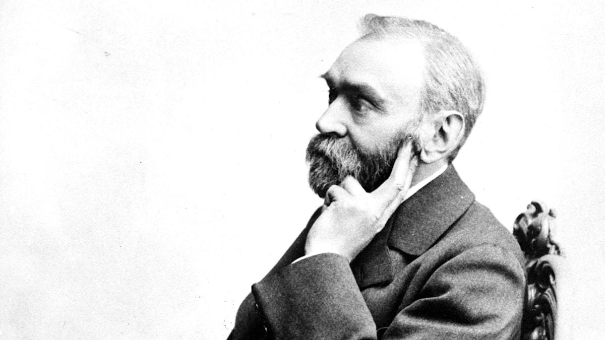 Alfred Nobel. SVT Bild.