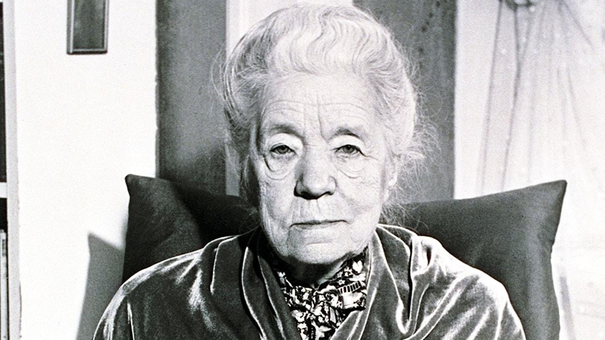 Selma Lagerlöf. SVT Bild.