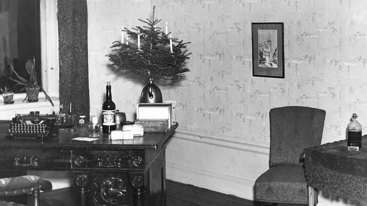 Ensam jul. SVT Bild.
