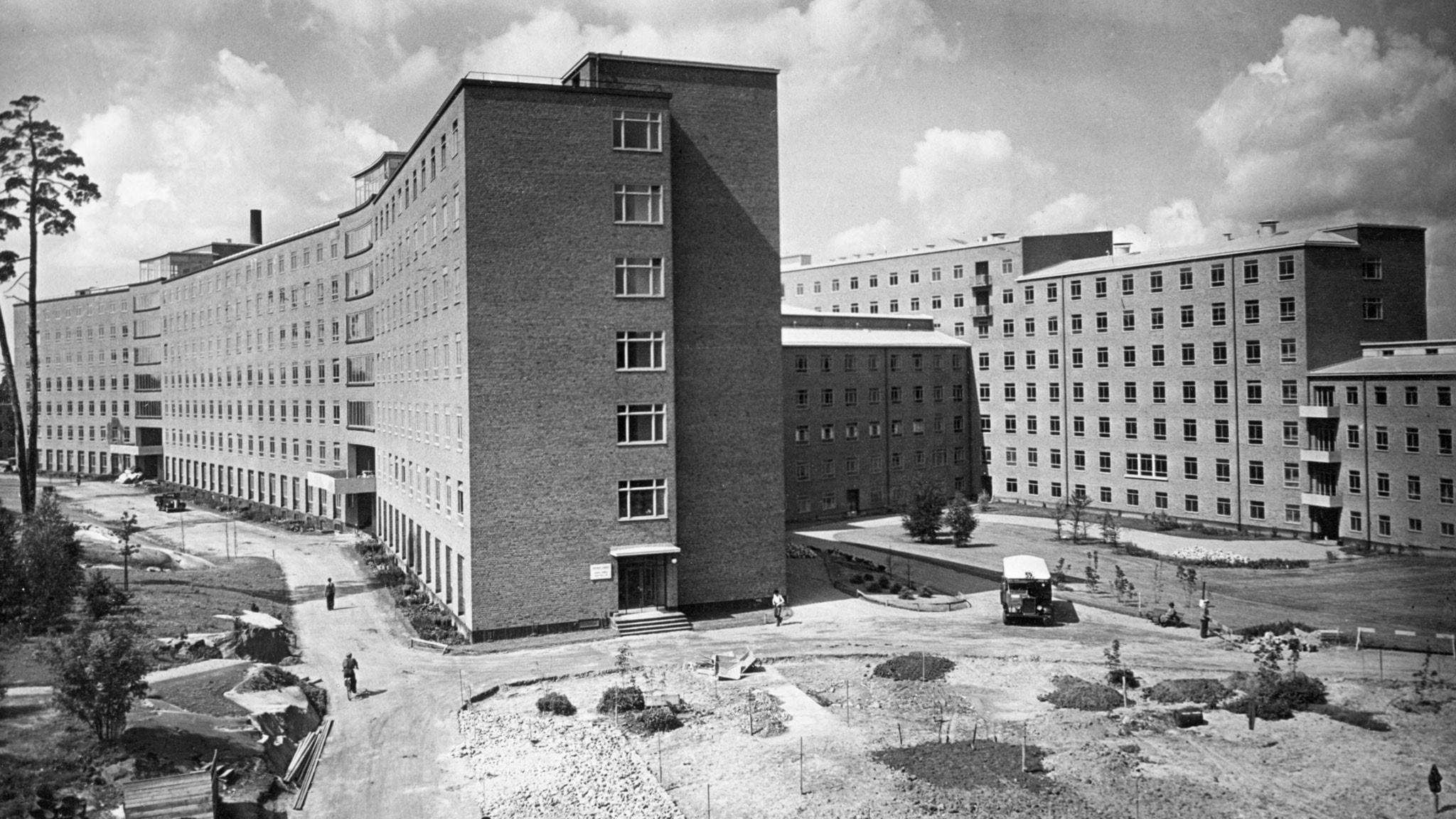 Karolinska sjukhuset. SVT Bild.