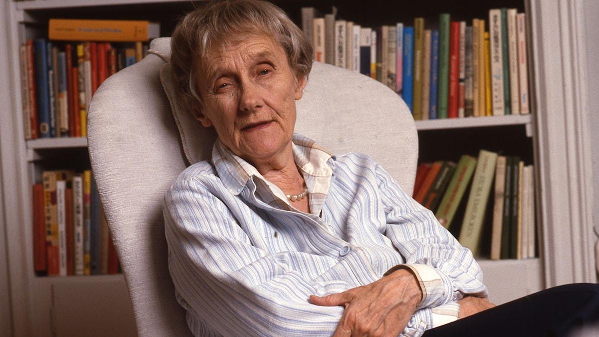 Astrid Lindgren. SVT Bild.