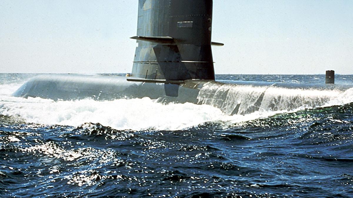 U-båt. SVT Bild.