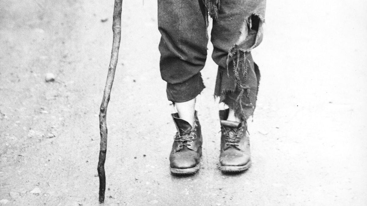 Fattigdom. SVT Bild.