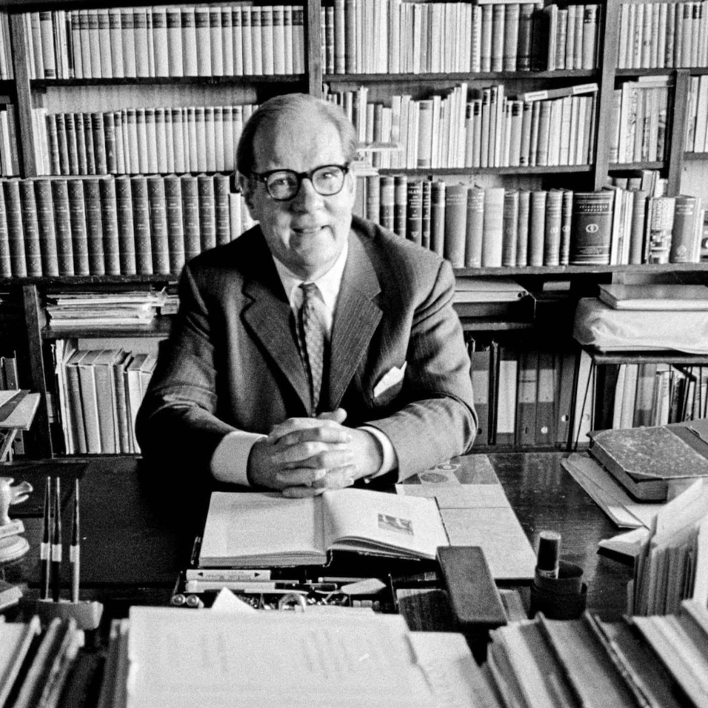 Radiofynd: Sven Stolpe återvänder till Paris 1955