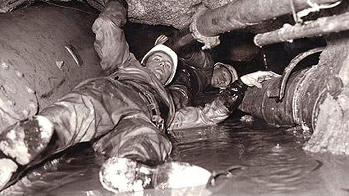 Tunnelras 1955. Foto Olle Johansson.