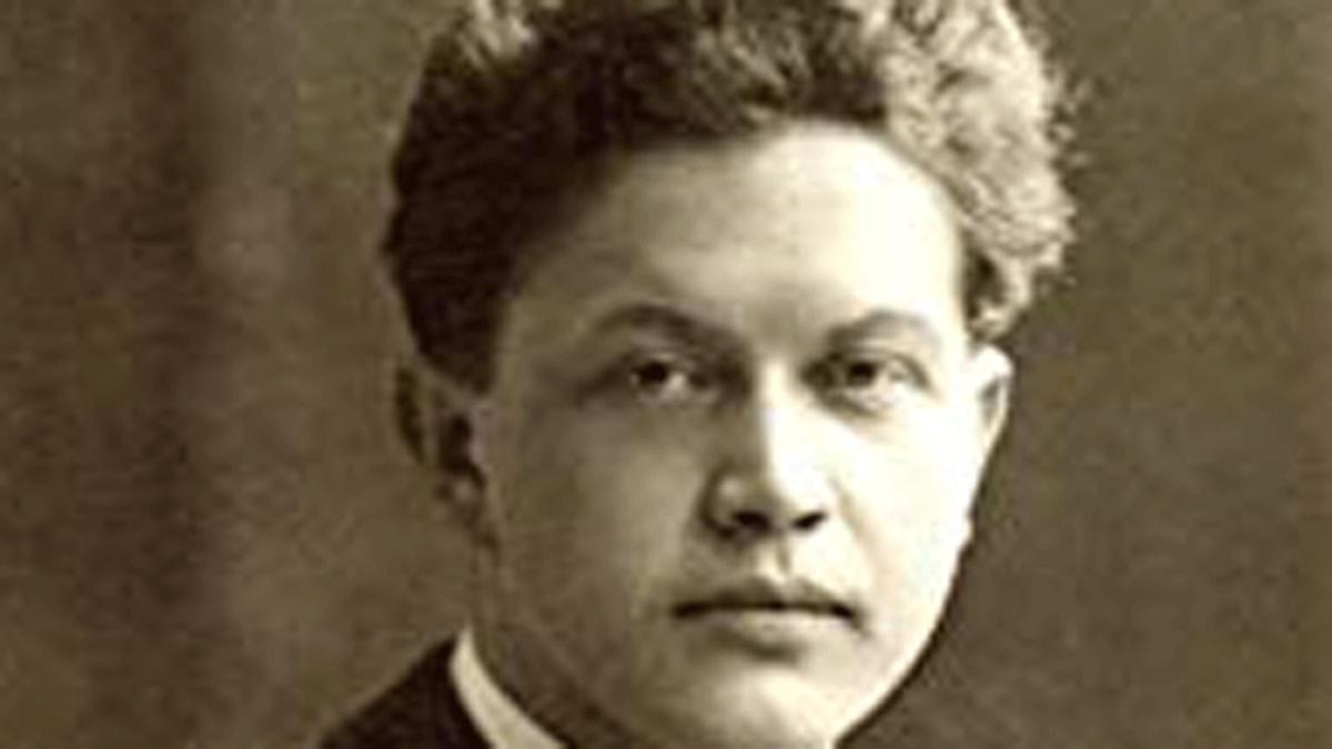 Hjalmar Bergman. Foto okänd.