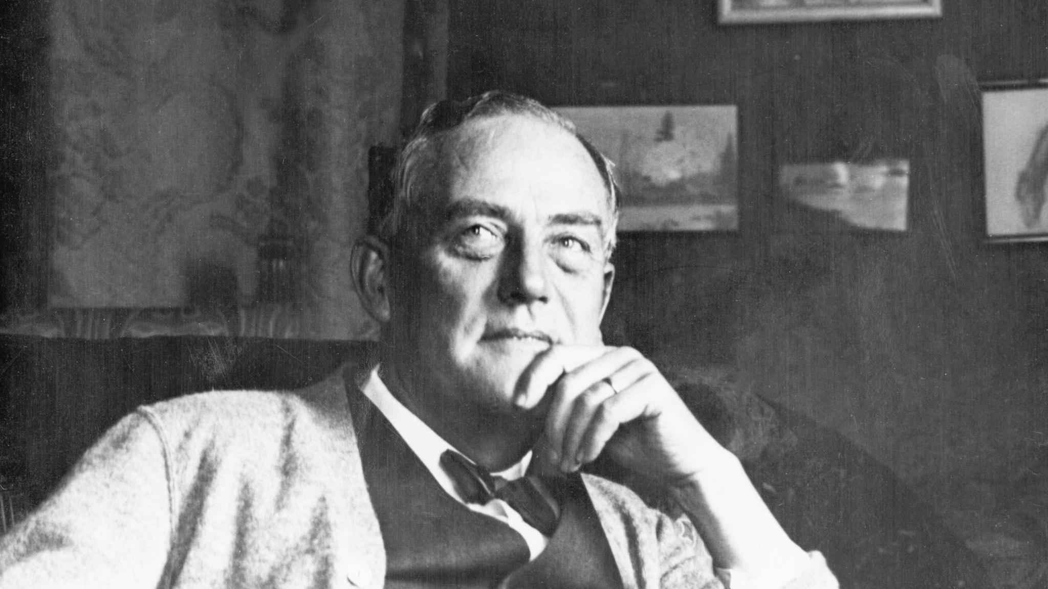 Victor Sjöström. SVT Bild.