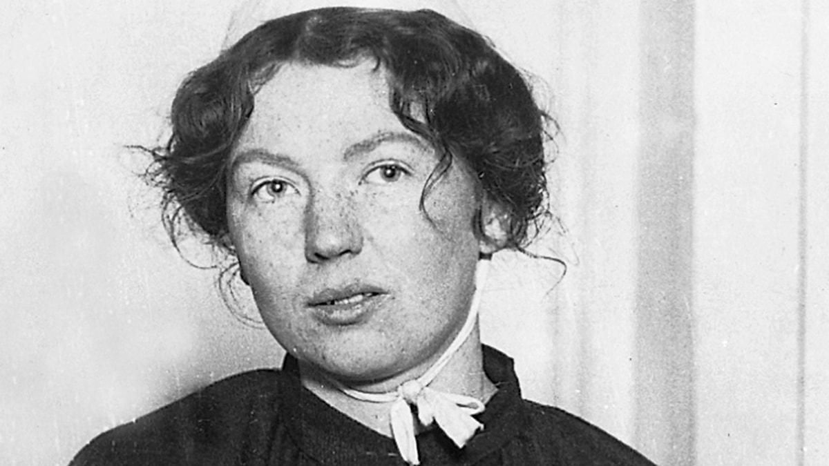 Sylvia Pankhurst. SVT Bild.