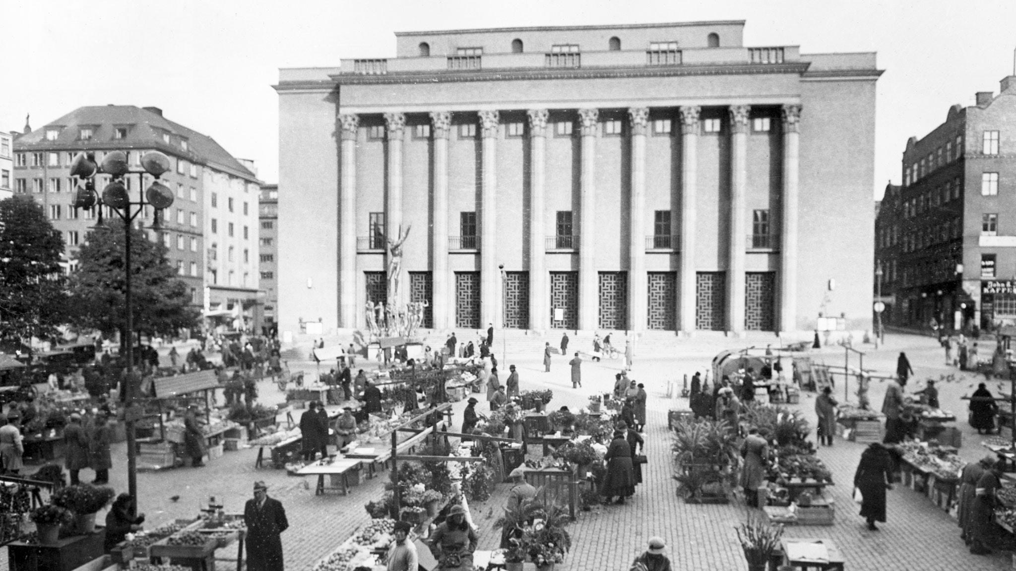 Orfeusmonumentet invigs 1936