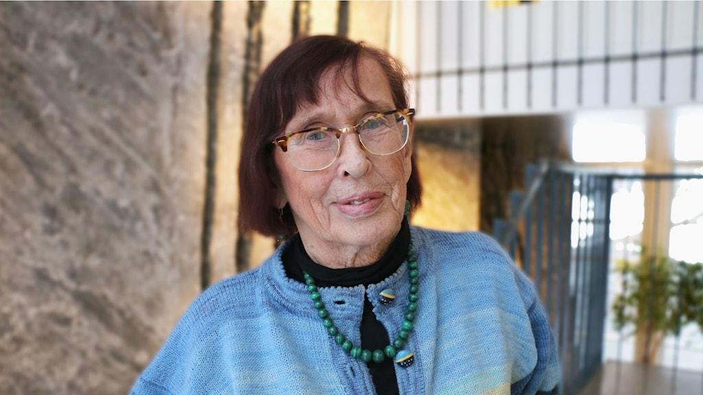 Birgitta Dahl. Foto: Ronnie Ritterland. SVT Bild.