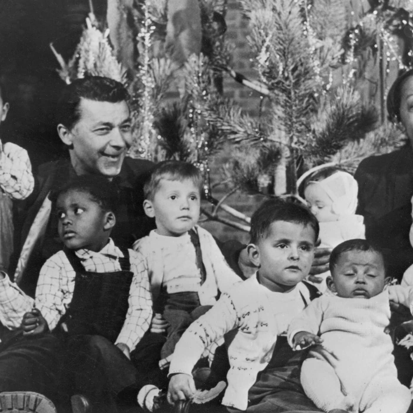 Radiofynd: Josephine Baker med storfamilj på besök 1962