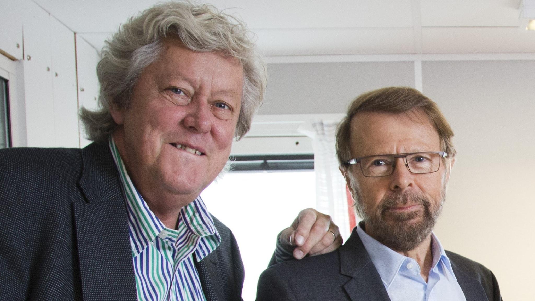 Ulf Elfving och Björn Ulvaeus.