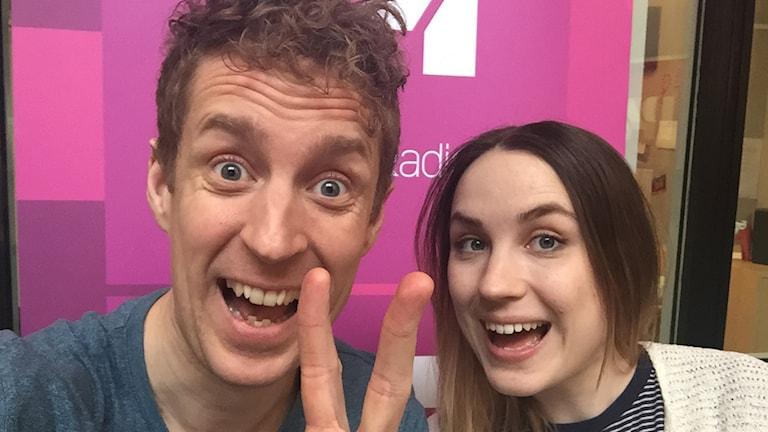 Martin Eriksson och Emma Hulander