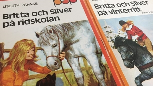 En bild på boken Britta och Silver på ridskolan