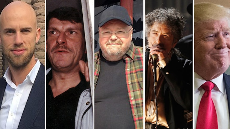 Carl-Oscar Bohlin, Christer Pettersson, Kalle Moraeus, Bob Dylan och Donald Trump