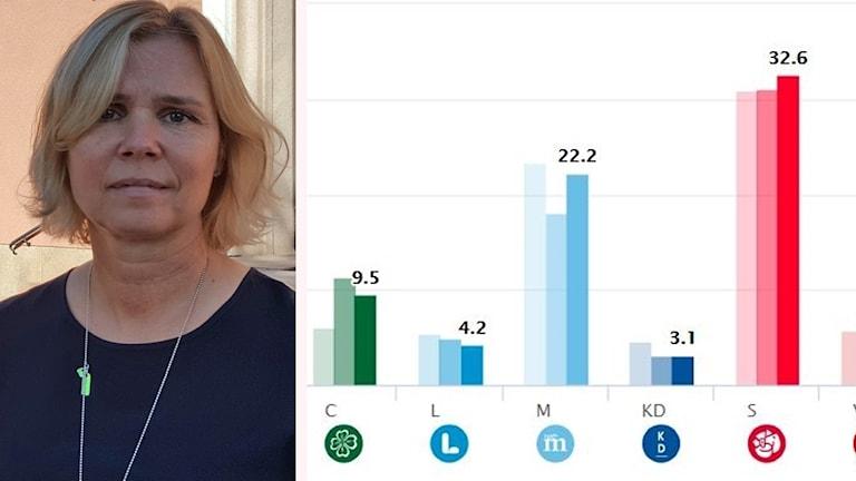 Malin Höglund, kommunalråd i Mora och vice ordförande för Moderaterna i Dalarna