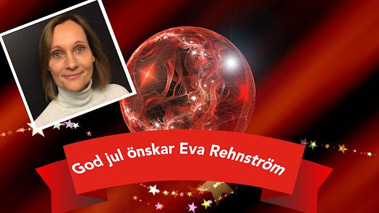 Ett kollage av bilder med bland annat Eva Rehnström