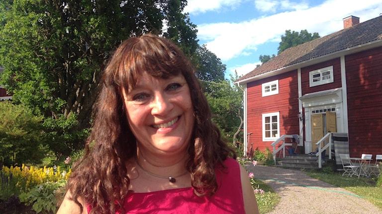 Karin Perers är ordförande för Kyrkomötet.