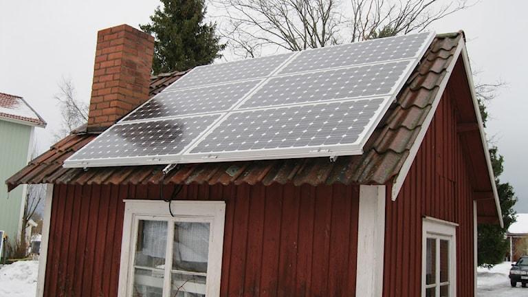 SolenergiSolceller Foto J Rosendahl