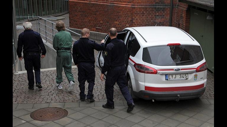 En tidigare rättegången mot gryningspyromanen. Foto: Stig-Åke Jönsson/TT.