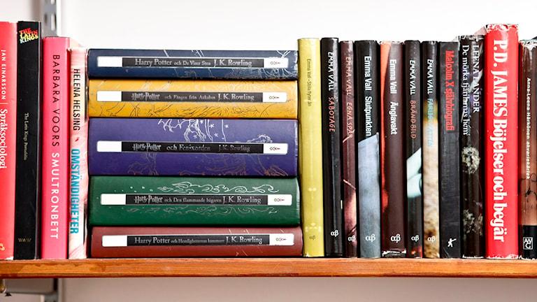 Böcker. Foto Niklas Larsson, scanpix