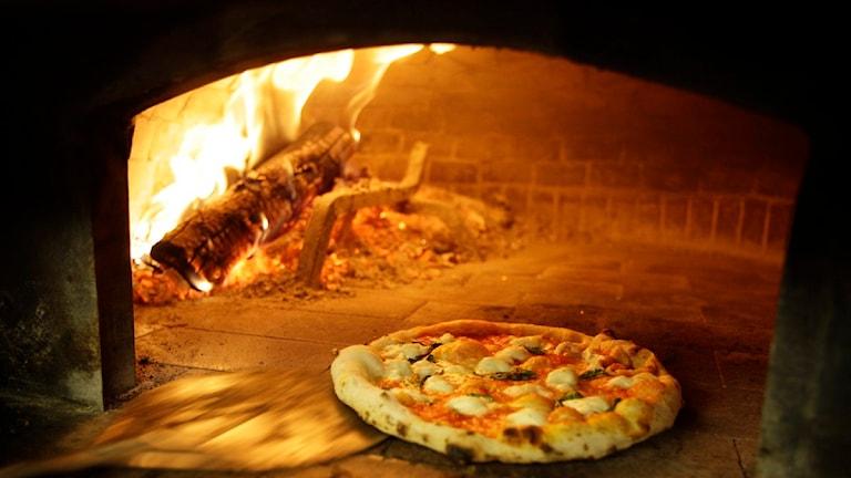 Pizza. Foto Eric Risberg, Scanpix