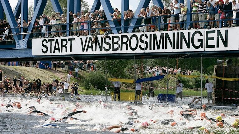 Vansbrosimningen. Foto Ulf Palm, Scanpix