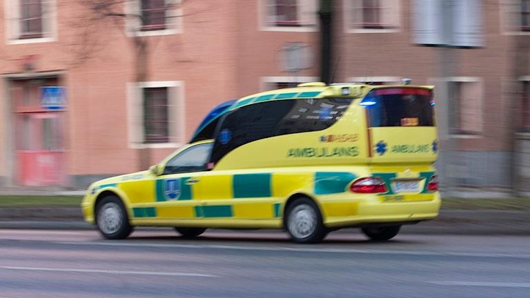 Ambulans. Foto: Bertil Ericsson/Scanpix.