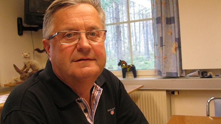 Thomas Björklund, ordförande för Jägareförbundet i Dalarna. Foto: Johannes Rosendahl.
