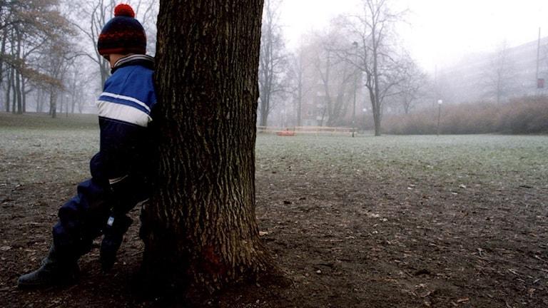Barnfattigdomen ökar. Foto: Scanpix.