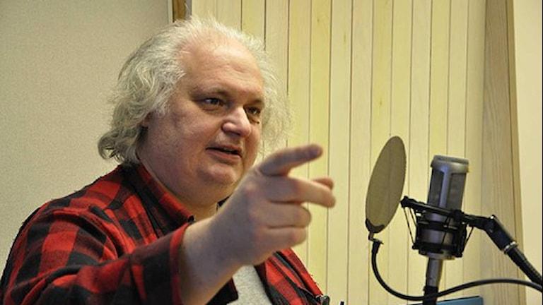Göran Greider. Foto: Tobias Gruhs.
