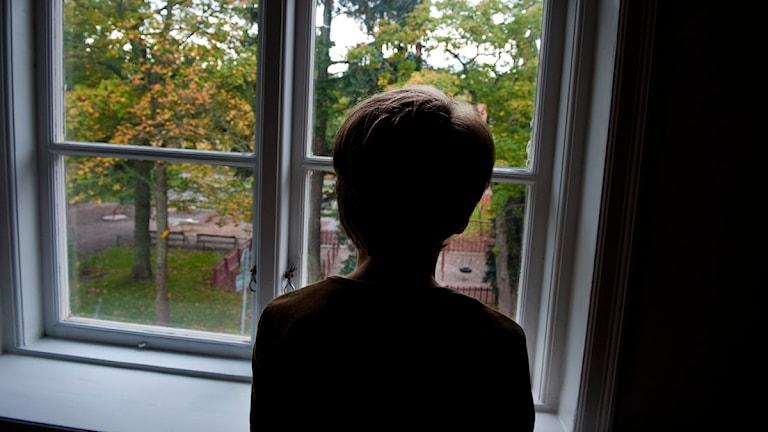 Ledsen pojke. Foto Jonas Ekströmer, Scanpix.