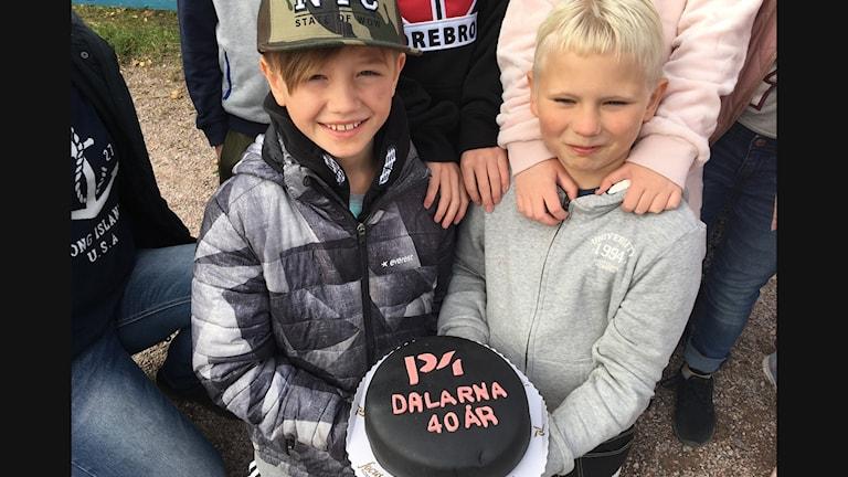 Charlie Holmqvist och Anton Dahlberg