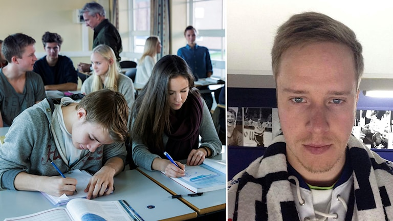 Jonas Skoglund, lärare på Smedbergsskolan i Vansbro