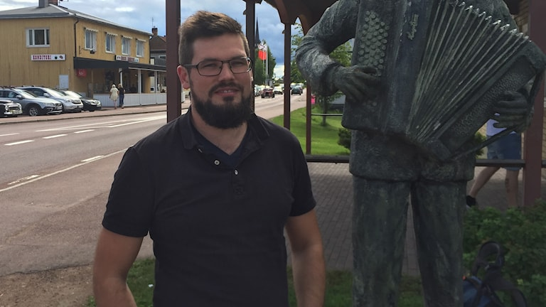 Björn Tegnér, enhetschef på avdelningen arbete och utveckling i Älvdalen
