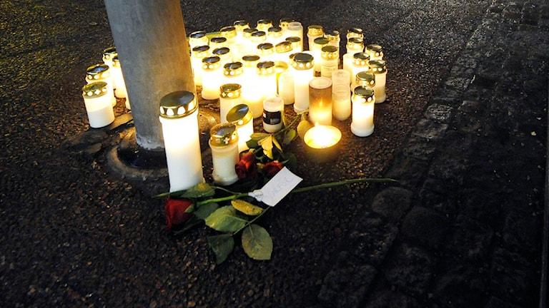 Dödsmisshandeln i Ludvika. Foto Ulf Palm, Scanpix.