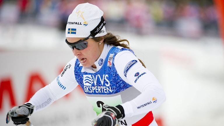 IFK Moras Anna Haag. Foto: Pontus Lundahl/Scanpix.