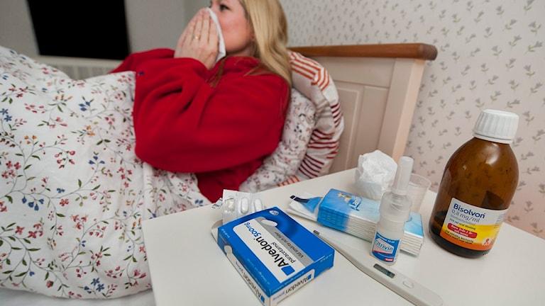 Influensa. Foto Jonas Ekströmer, Scanpix.