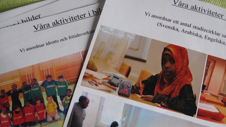 Islamiskt center. Foto Eva Rehnström.