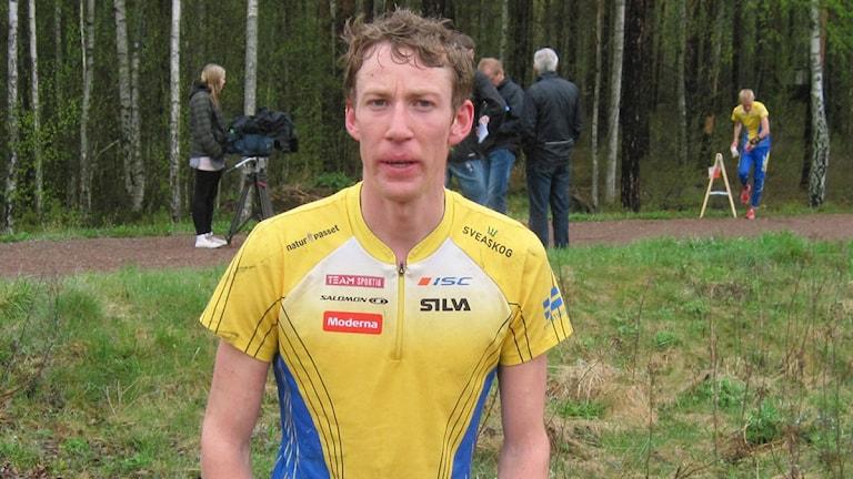 Erik Rost från Malungs OK. Foto: Stefan Ubbesen.