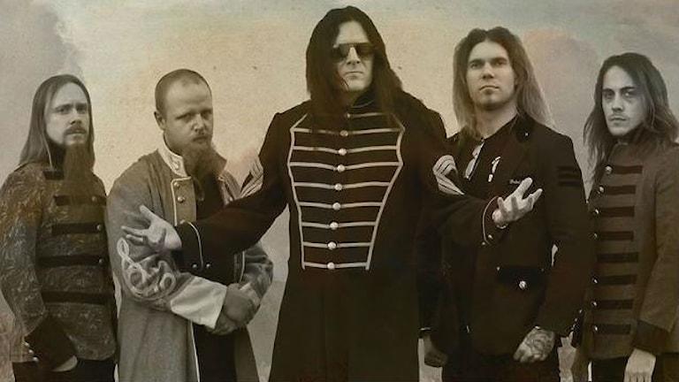 En bild på bandet Civil War