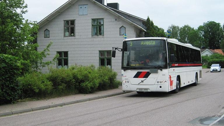 Avestaborna åker gratis buss. Foto: Stefan Ubbesen.