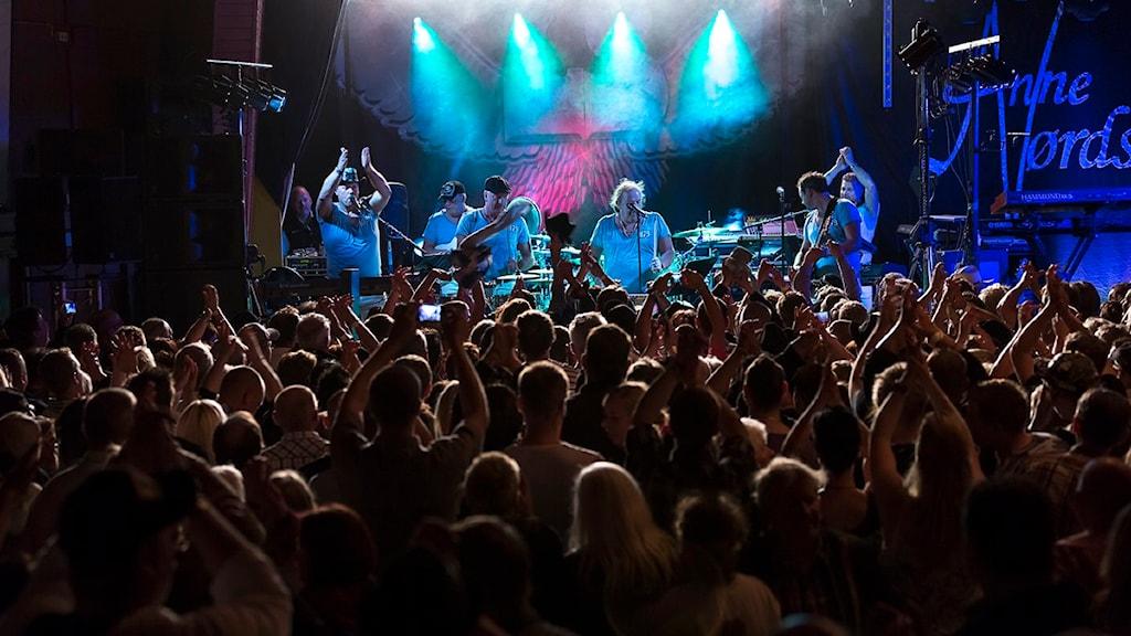 Svenska dansbandsveckan i Malung 2012.
