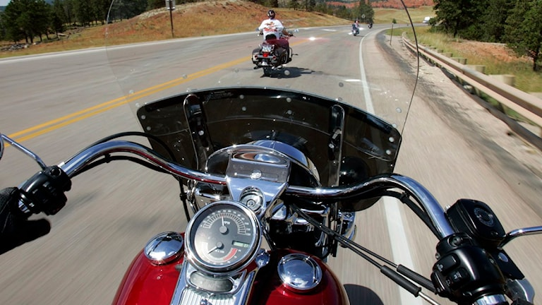 Motorcykel. Foto: Scanpix.